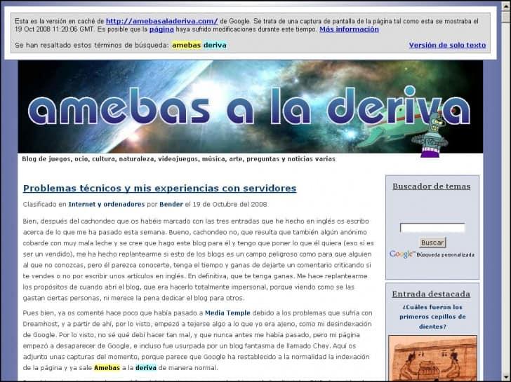 amebas a la deriva