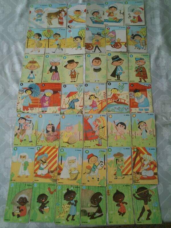 juego cartas razas